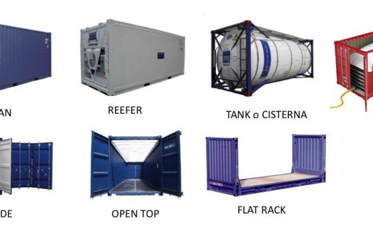 Tipo de contenedores marítimos