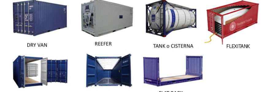 Types of marine containers